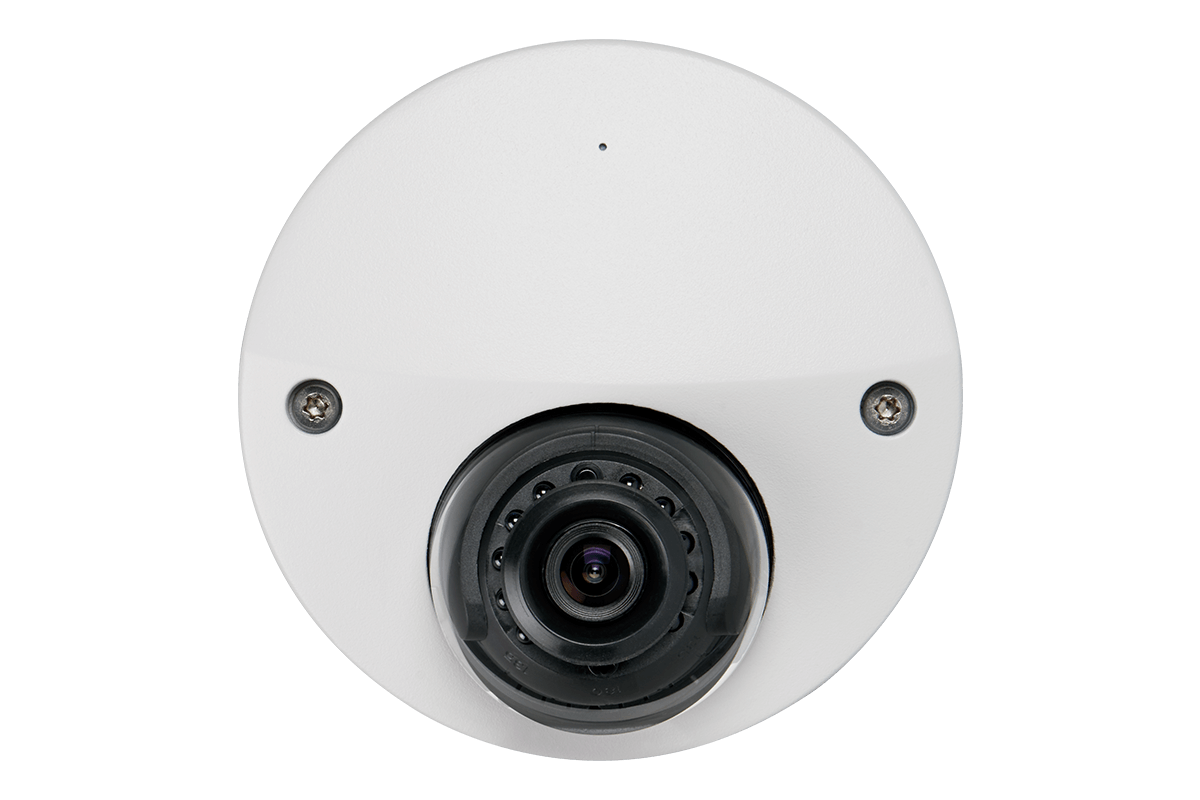 Wide angle 1080p high definition security camera