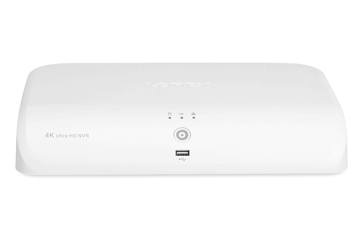 N844 Series - 4K 8-Channel Smart NVR with Fusion -