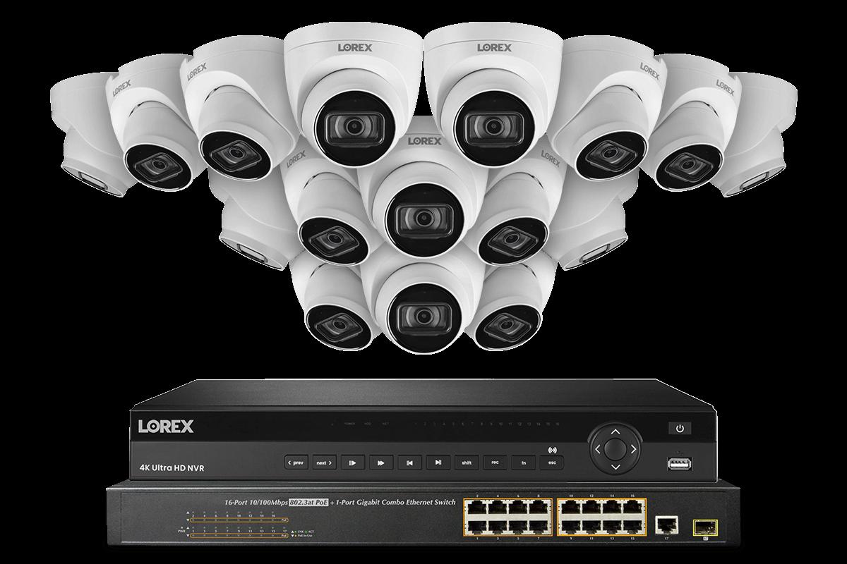 NC4K8-3216WD 4K Ultra HD Security Camera System