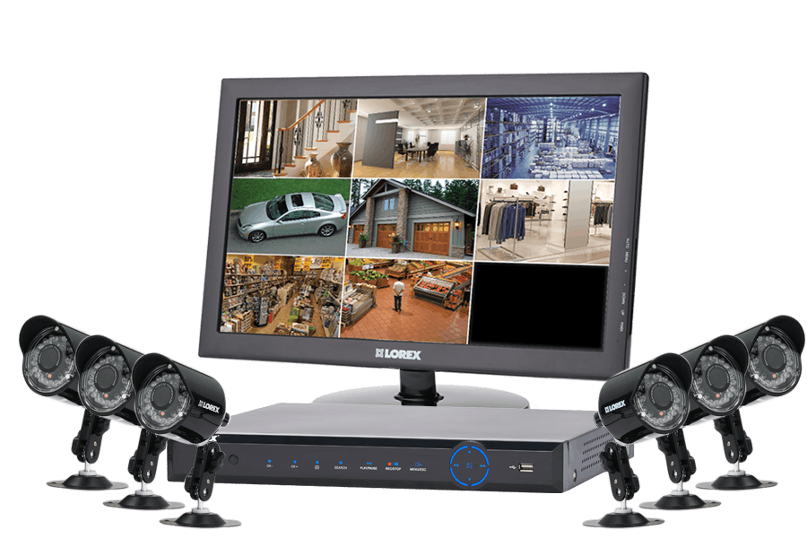 Camera security surveillance system