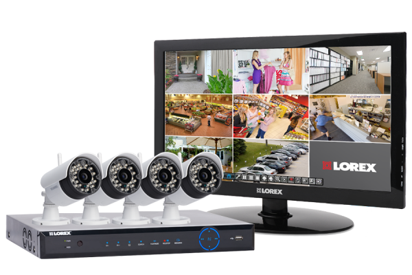 Wireless security camera system