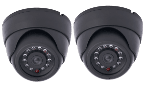 Dummy dome security cameras (4 pack)