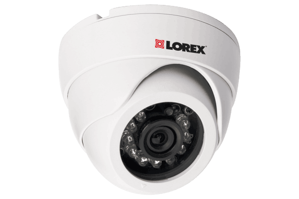 Indoor dome security camera
