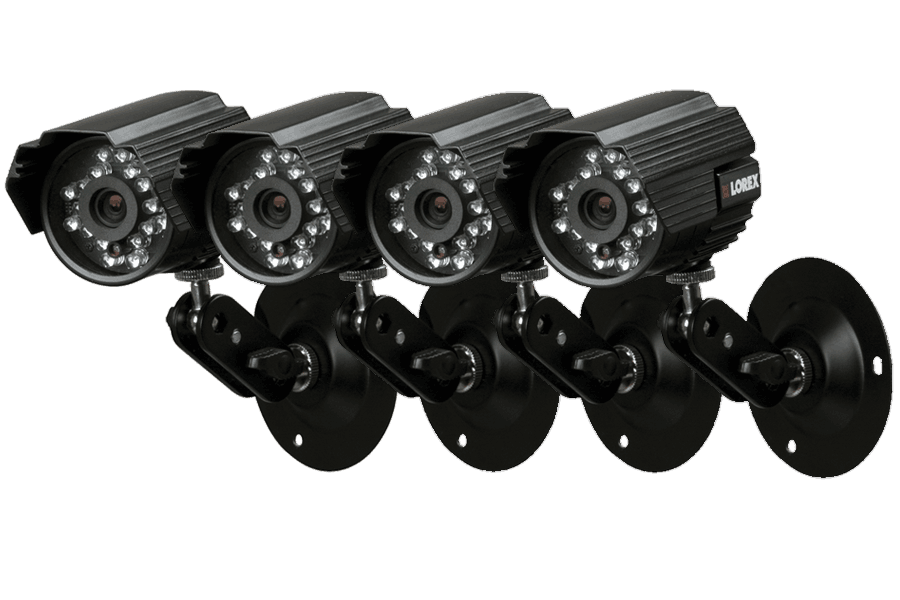 Out door security cameras with night vision 4 Pack