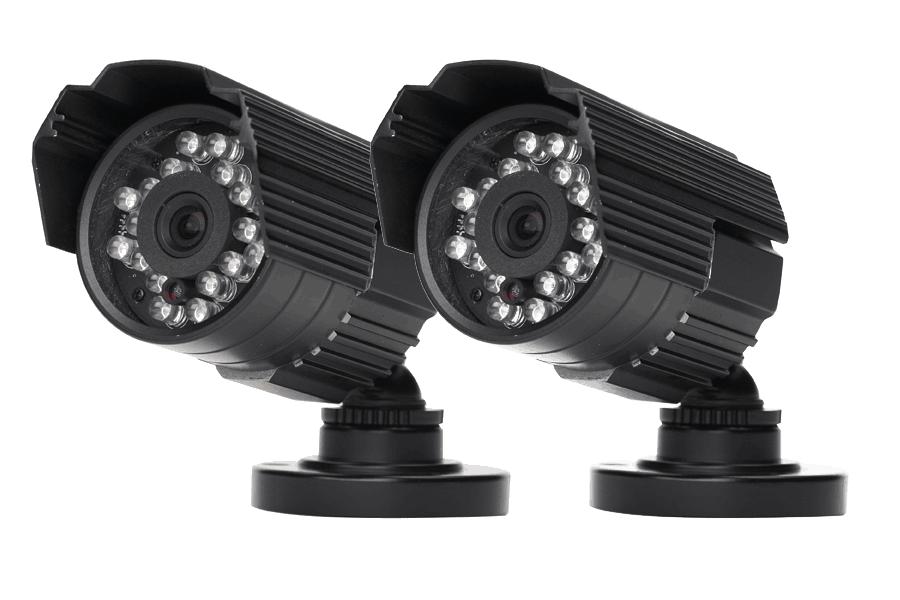 Outdoor surveillance cameras night vision