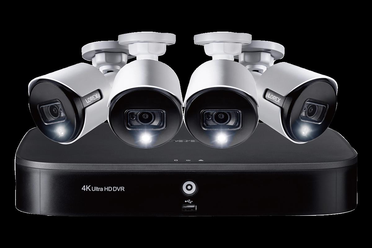 TD81825A4-E 5MP 2K security camera system analog HD