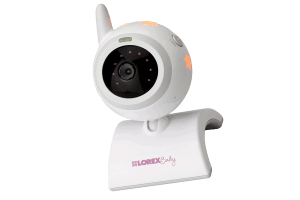 Video baby monitor with large 7 inch display