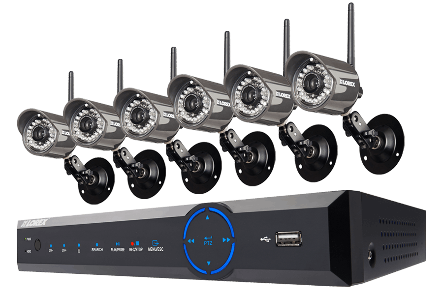 Lorex 16-Ch. DVR & 6-Cam. Wireless System