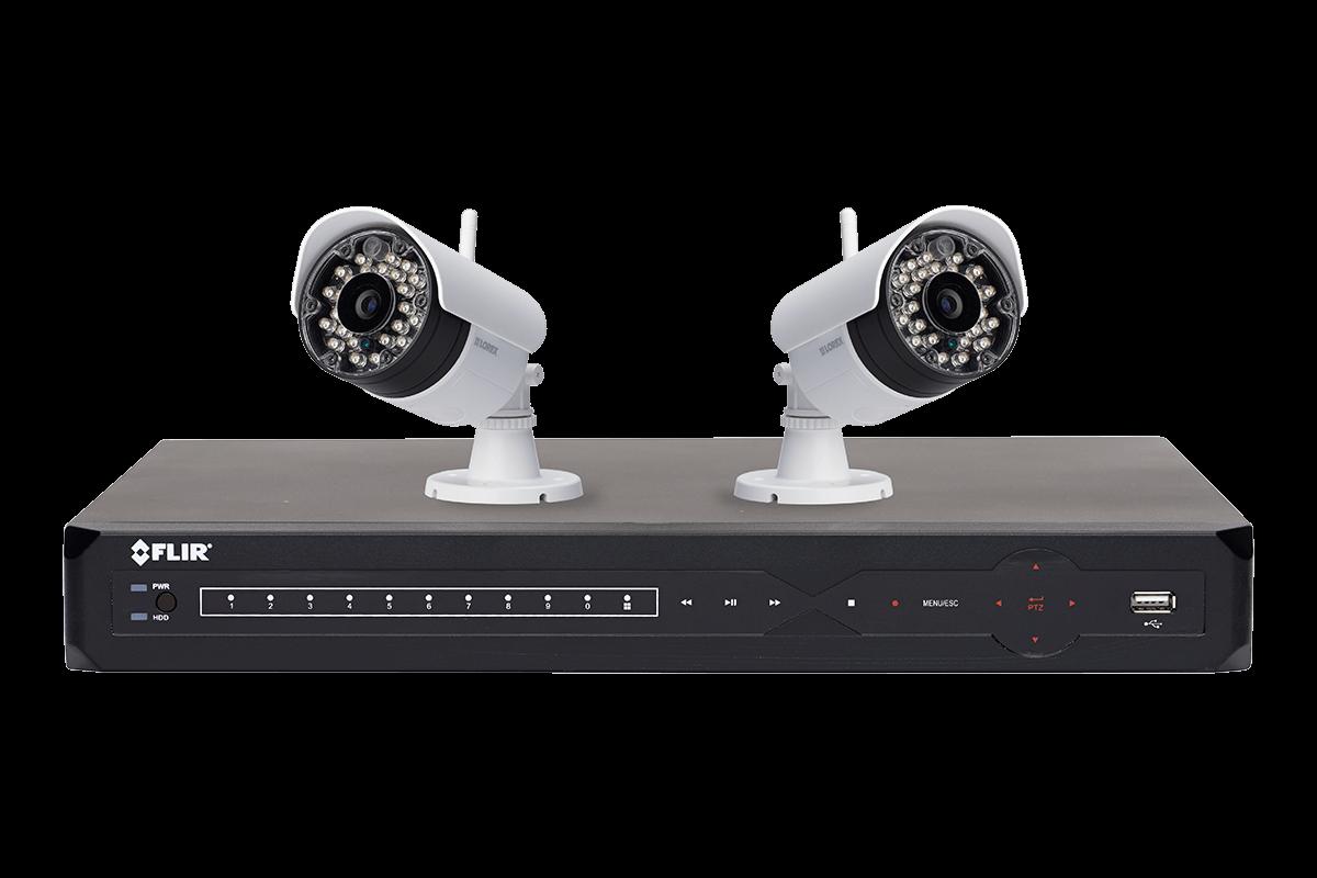 Lorex 8-Ch. DVR 2-Cam. Wireless Surveillance System