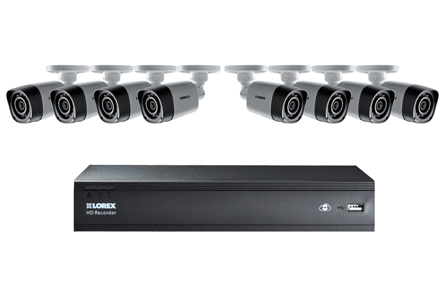 HD 720P Camera System with 8 Cameras and 1TB  Hard Drive