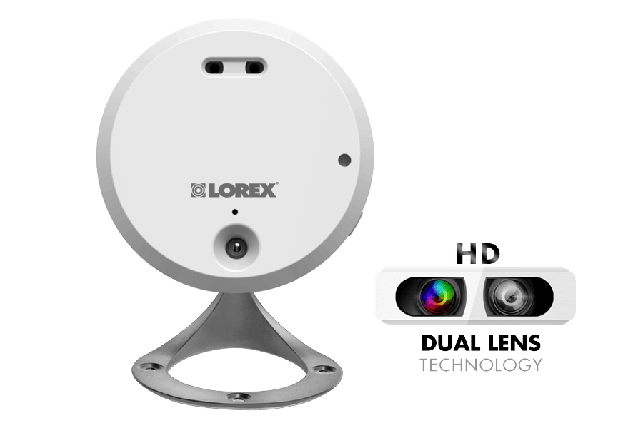 Home WiFi HD camera with remote viewing, audio and night vision