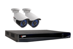 HD Security Camera System with 4 Channel NVR