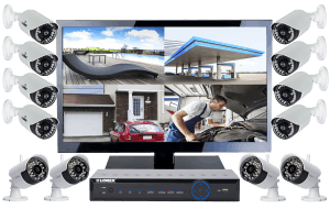 Complete 12 Camera Wireless Security System with Monitor