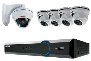Dome Camera Home Security System with PTZ