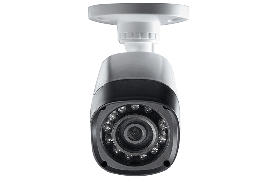 Security camera with full 1080p HD recording resolution