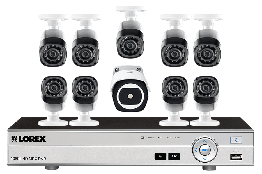 16 Channel HD Security System with Thermal Camera