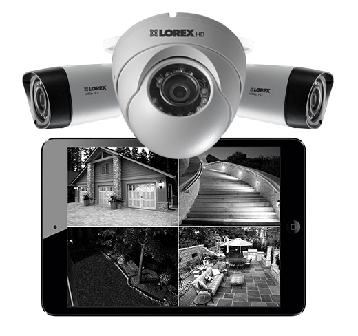 Add night vision security cameras to your thermal security camera bundle