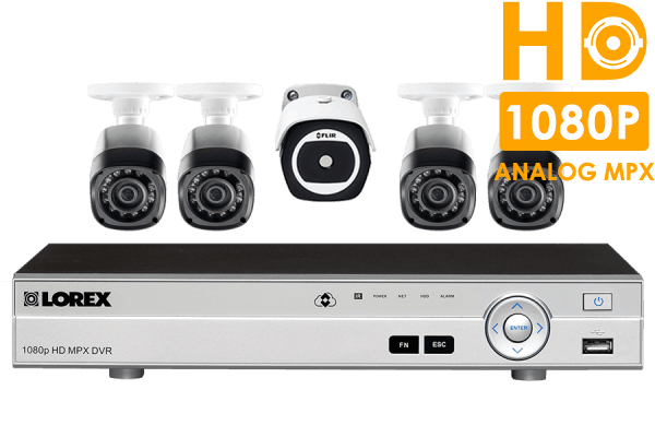 8 Channel HD Security System with Thermal Camera