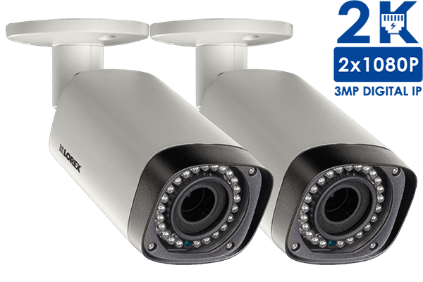 2K Indoor/Outdoor Security Cameras with Motorized Varifocal Lenses ...