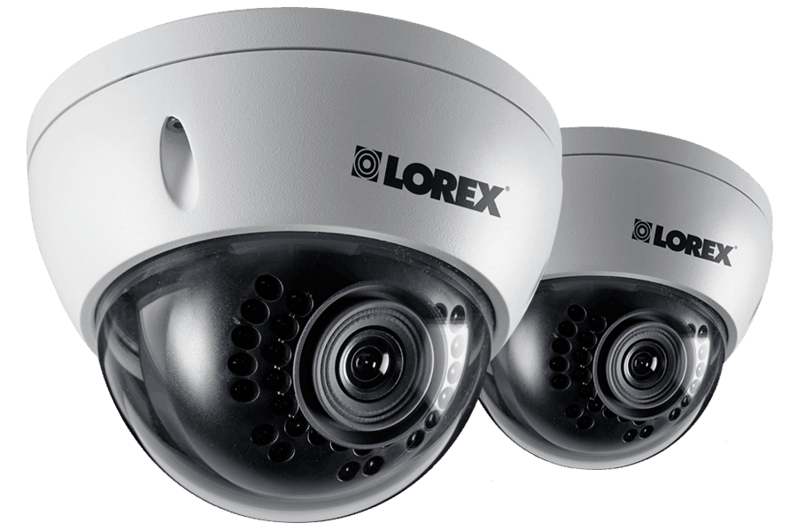 Outdoor HD Dome IP Camera 1080p 2 Pack