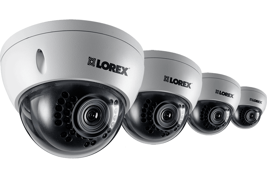 Outdoor HD Dome IP Camera 1080p 4 Pack
