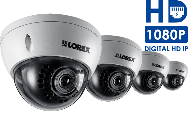 Outdoor HD Dome IP Camera 1080p (4-Pack)
