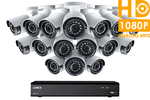 2K Super HD 16 Channel Security System with 16 Super HD 2K