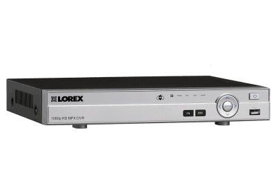 Analog HD 1080p security system DVR - 4 channel