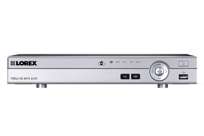 Analog HD 1080p security system DVR - 8 channel