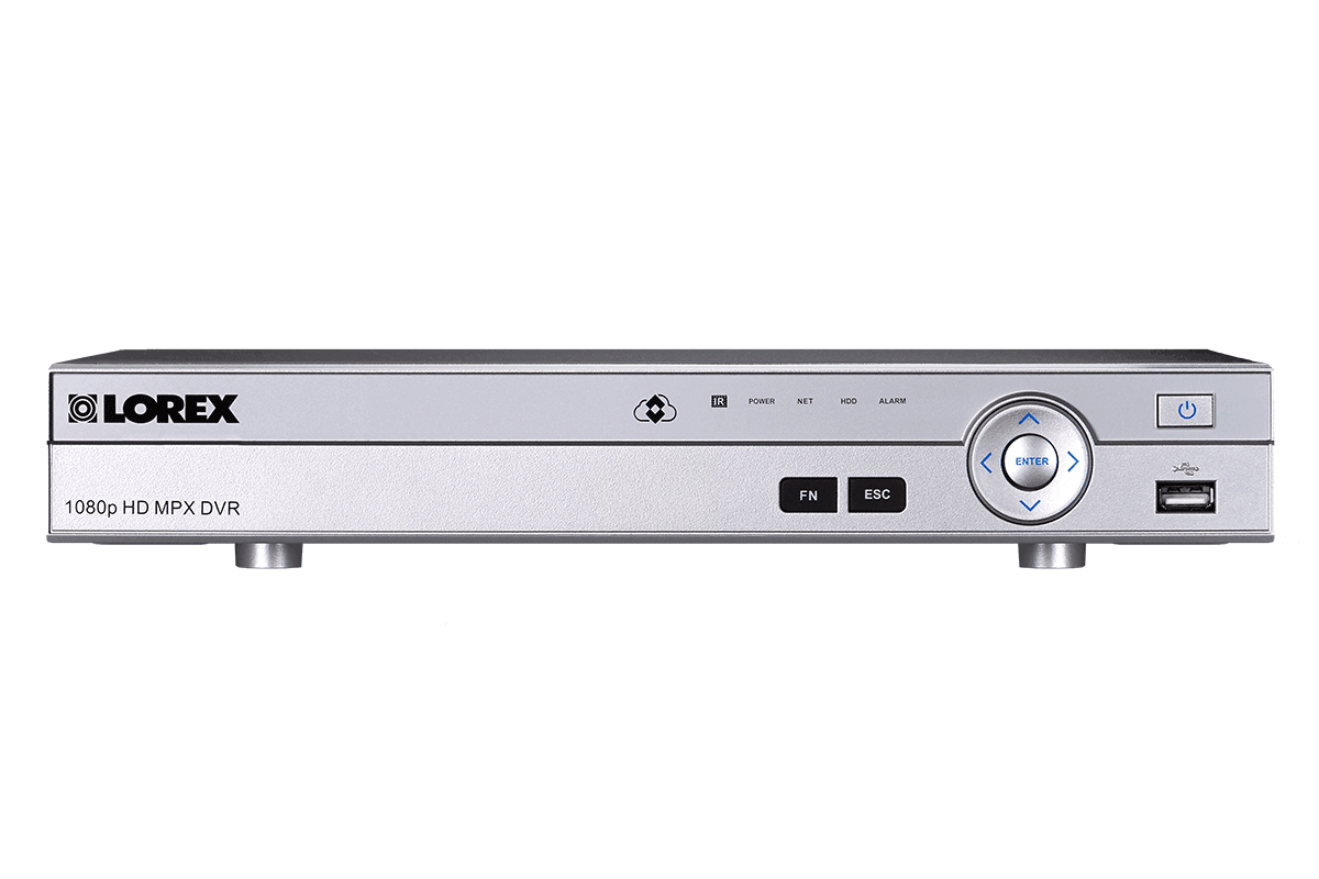 Analog HD 1080p security system DVR - 16 channel