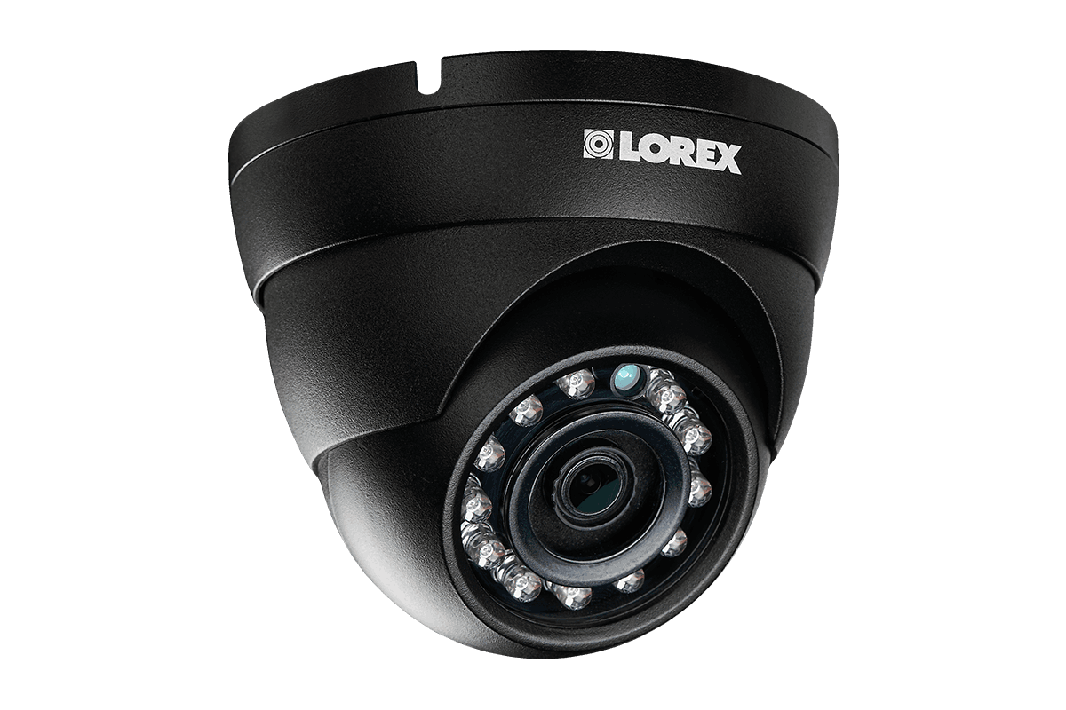 2K security system with 8 Color Night Vision™ IP cameras and monitor