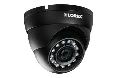 IP security system featuring eight 2K cameras and 12 motorized varifocal cameras