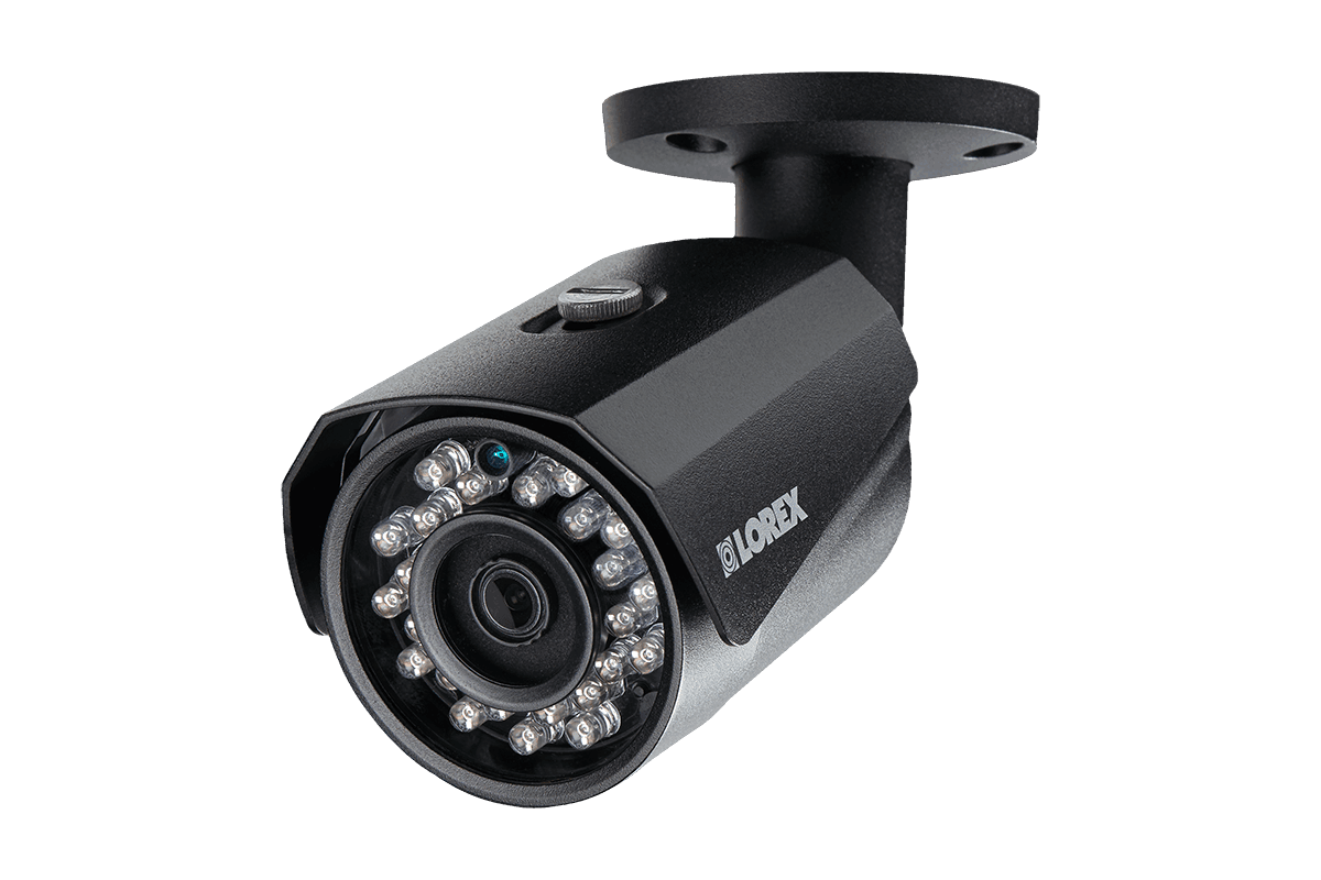 8 channel 2K resolution (4 megapixel) IP camera system with 2 Color Night Vision™ security cameras