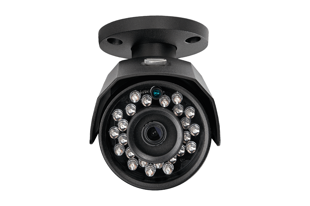 2K (4 megapixel) home security system with 4 IP cameras