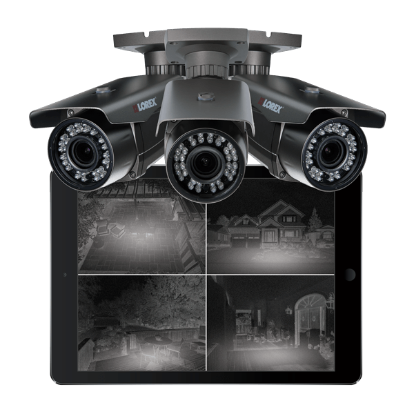 HD and wireless night vision security cameras from Lorex