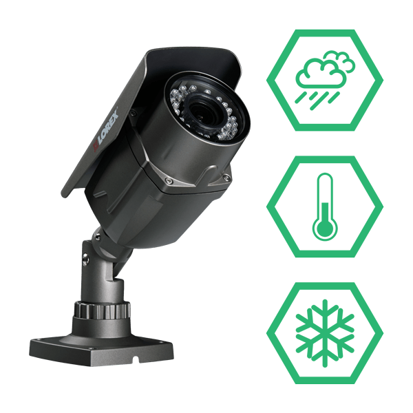 Weatherproof HD wireless security cameras