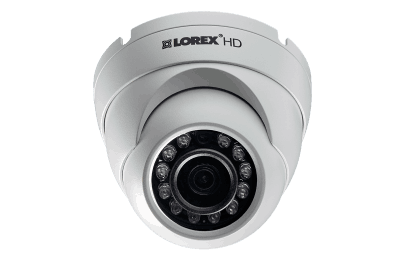 HD 1080p weatherproof IR dome security cameras (4-pack)