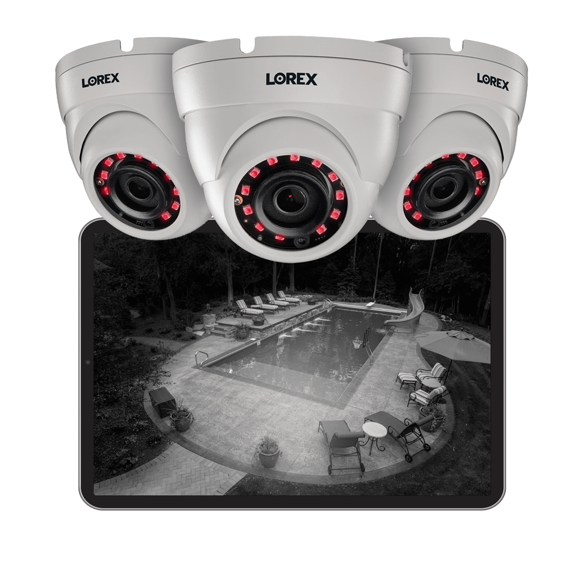 security cameras in high definition with night vision from Lorex