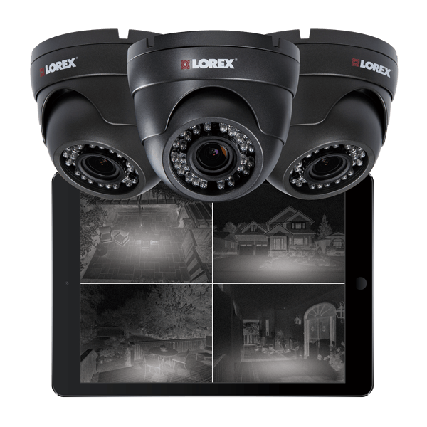 HD 1080p night vision security cameras for all-night protection