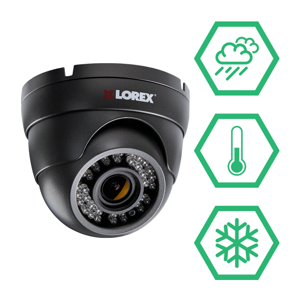 IP66 Weatherproof and vandal resistant HD security cameras