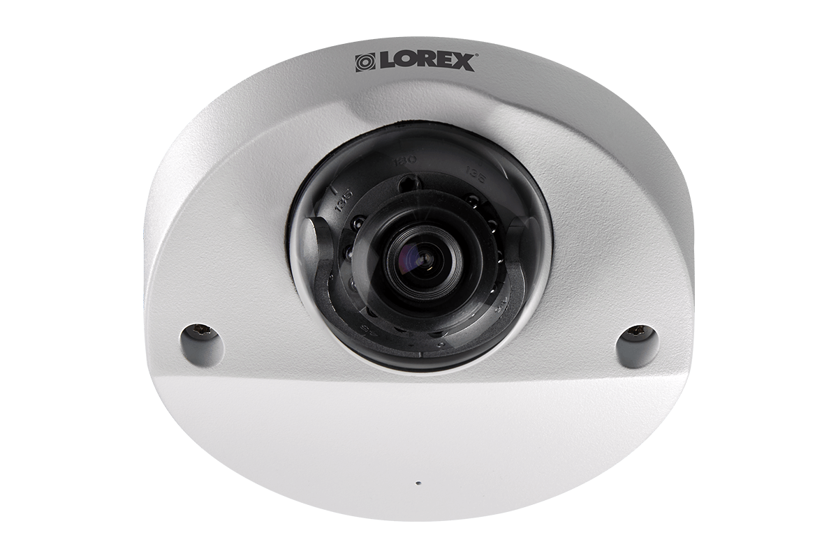 Audio enabled HD 1080p dome security camera