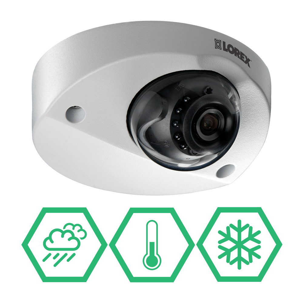 Security camera for all kinds of extreme weather