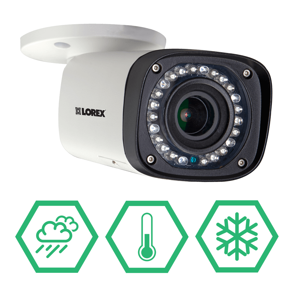 Weatherproof 2K IP security camera