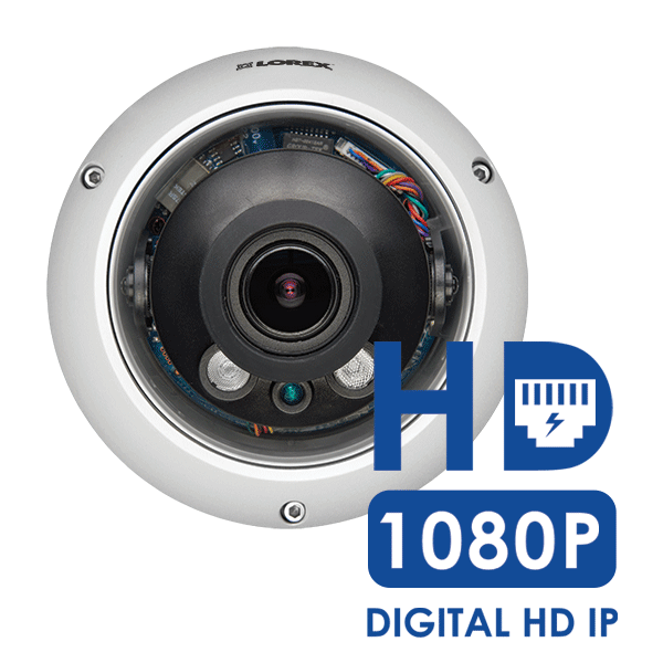 1080p HD network security monitoring