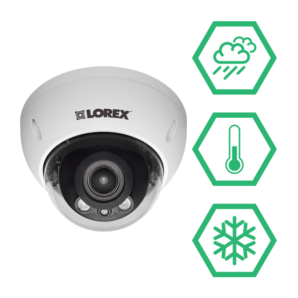 LND3374B weatherproof security cameras for year-round protection