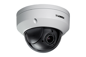 LNR600 Series HD NVR with SUPER HD 4MP Security Cameras, Pan-Tilt-Zoom Camera & FLIR Secure Connectivity