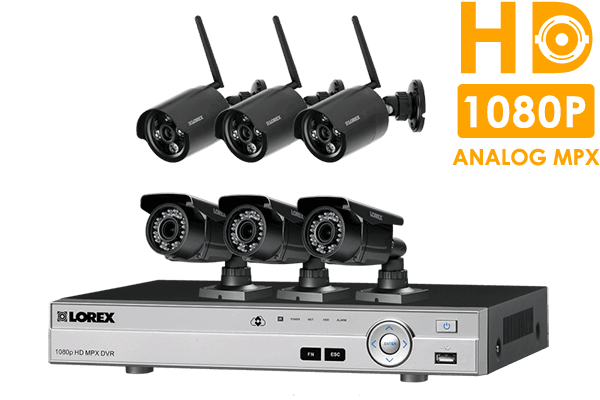 Home Security System with HD 720p Wireless and Varifocal HD 1080p ...