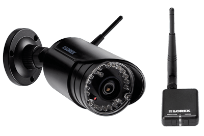 Wireless home security system featuring 6 night vision security cameras