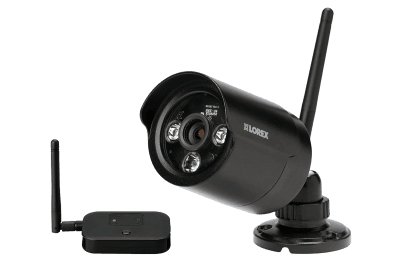 Security system with 6 wireless cameras 2 domes and monitor ...