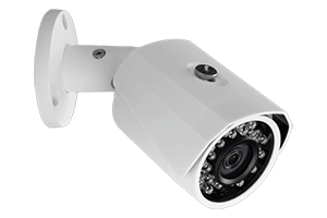 Outdoor surveillance system with 8 HD 1080p cameras and 4 HD 720p wireless cameras